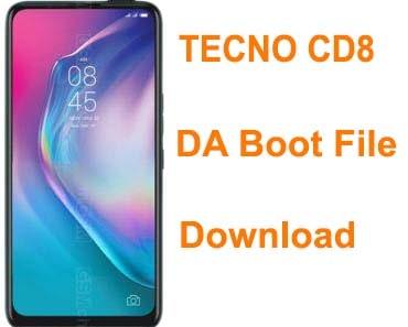 Tecno CD8 DA File For Sp Flash Tool Free Download