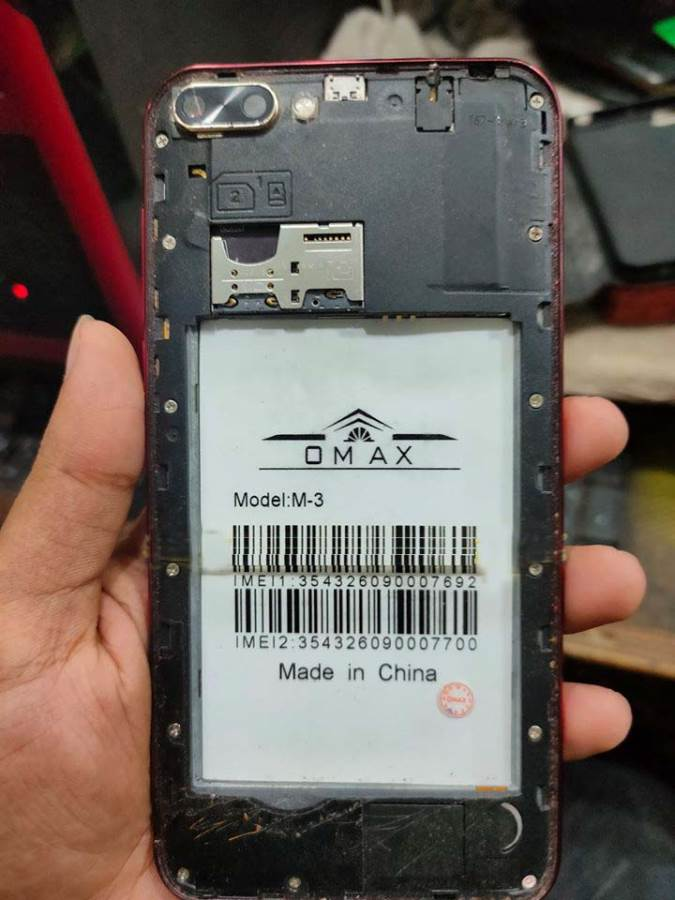 Omax M-3 Flash File MT6580 5.1 Tested Firmware