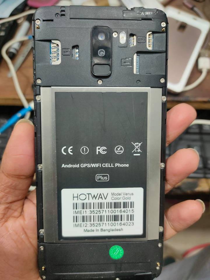 Hotwav Venus Flash File 6.0 Black Lcd Fix File (Paid)