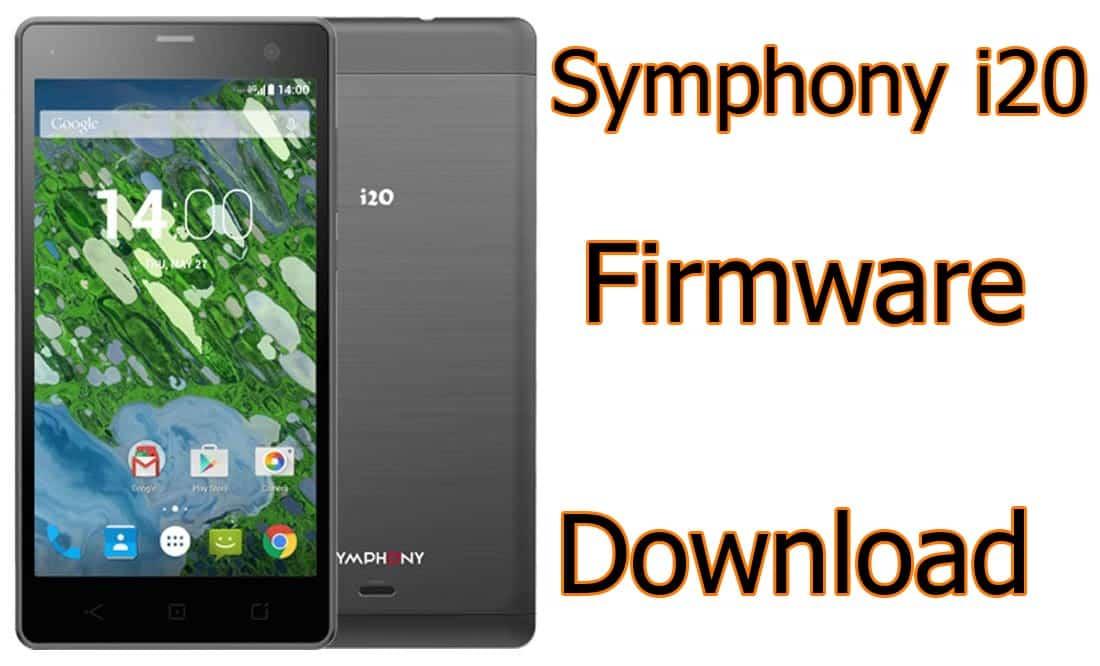 Symphon i20 Flash File Firmware Free (Stock ROM)