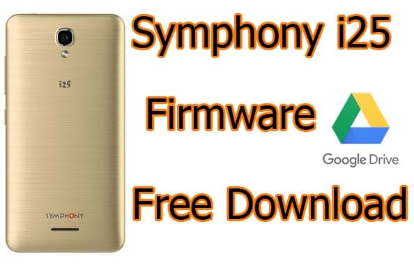 Symphony i25 Flash File FREE HW1_V6 (Firmware)