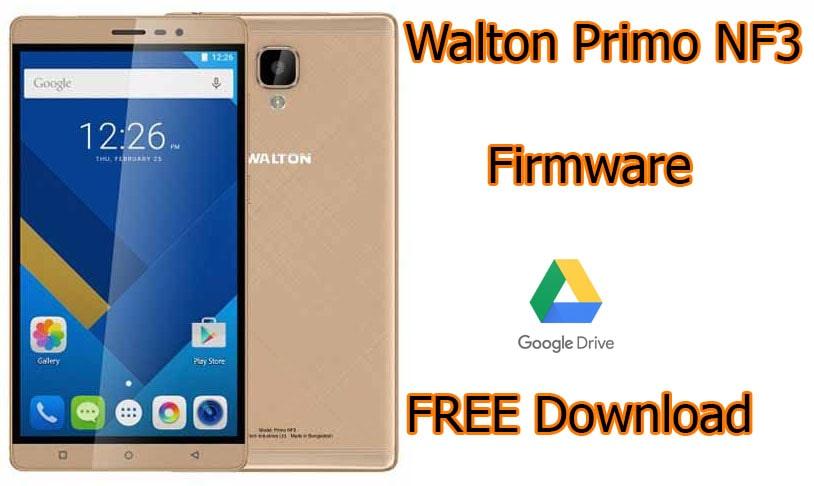 Walton Primo NF3 Flash File (Firmware) ROM