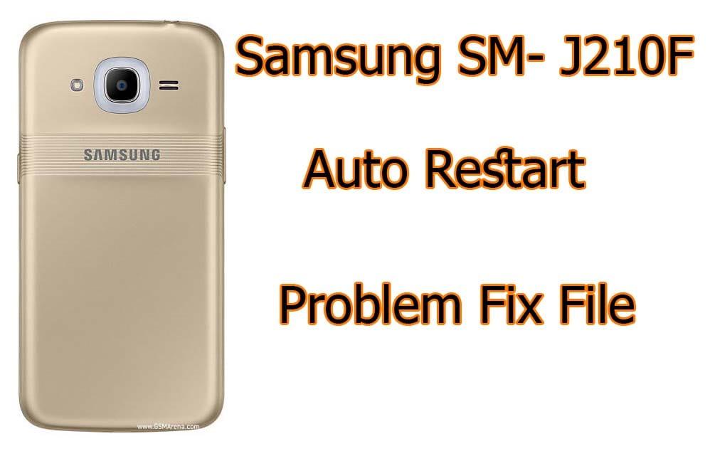 Samsung SM-J210F Stock Firmware ROM (Flash File)