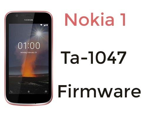 Nokia 1 TA-1047 Firmware (Flash File) Download